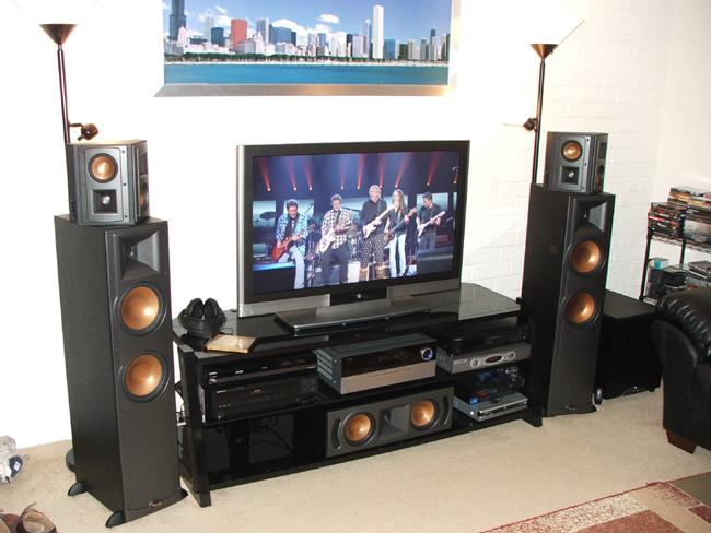 klipsch rf 35 39 s and rest of setup avs forum home. Black Bedroom Furniture Sets. Home Design Ideas